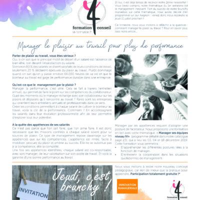 Newsletter trimestre 2