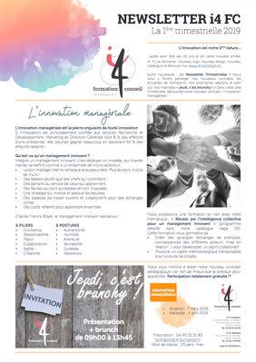 news letter janvier 2019